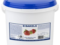 Les Fruits Strawberry 70% 6Kg - Maduixa Bakels
